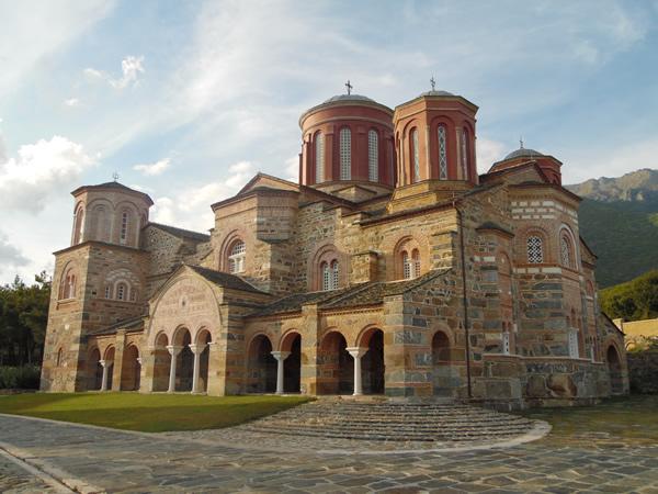 Μοναστήρι όπως τα χρόνια του Βυζαντίου